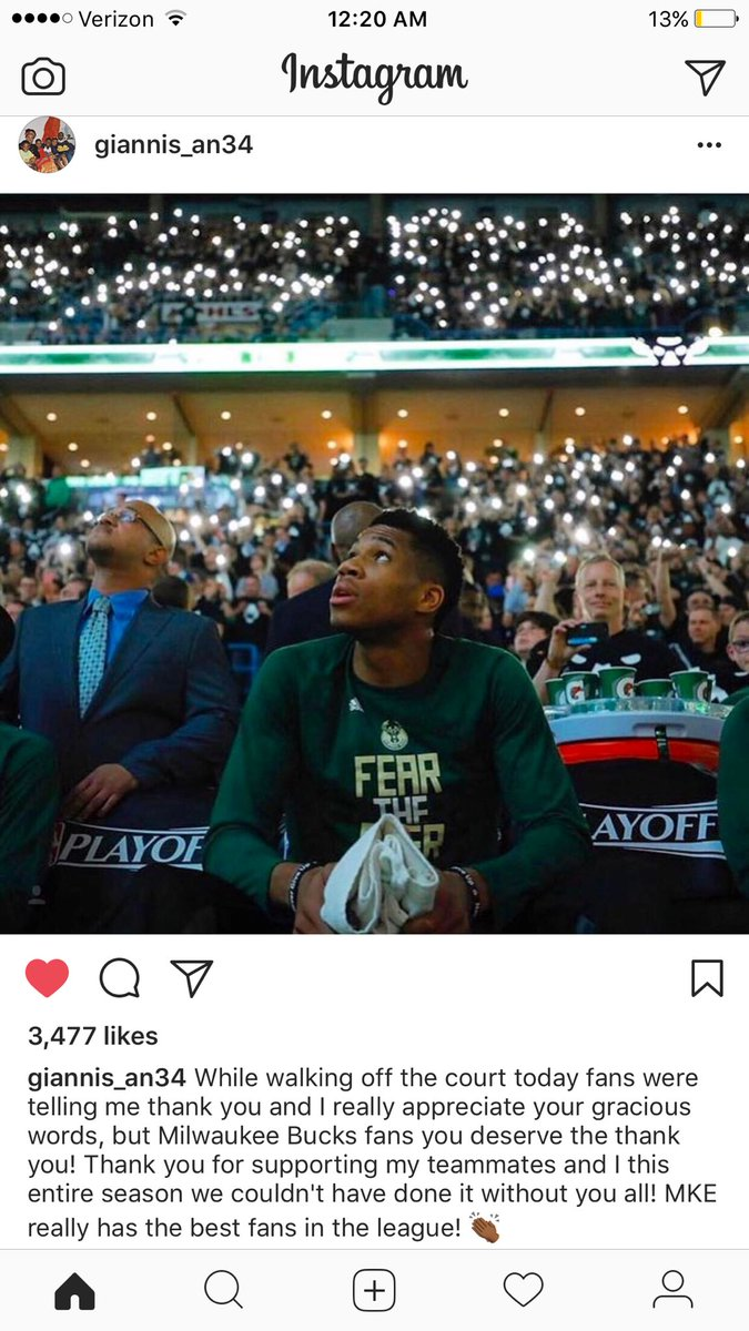 .@Giannis_An34 is just amazing! Can't wait to see what the future hold...