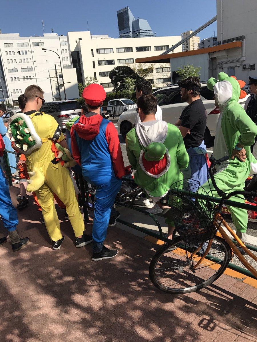 【悲報】 マリオカートの人たち警察に捕まってるwww