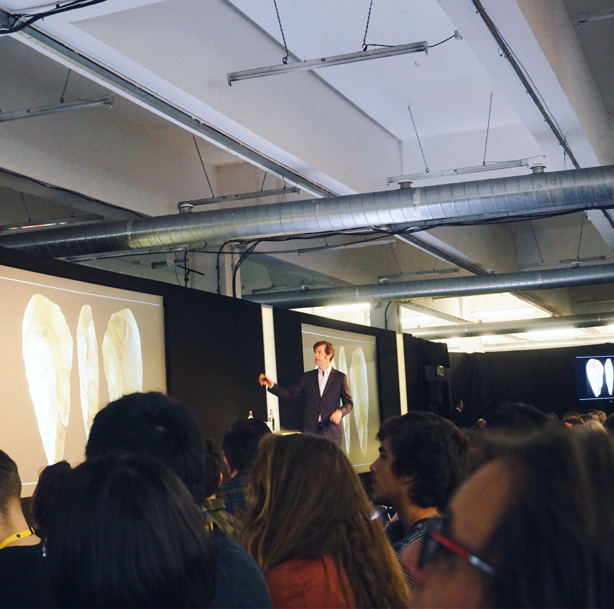 Stefan #Sagmeister on 'Why Beauty Matters' at @dandad. An incredible presentation! Informative yet interesting. #dandad17 #stefansagmeister https://t.co/HfEyxYryZ5