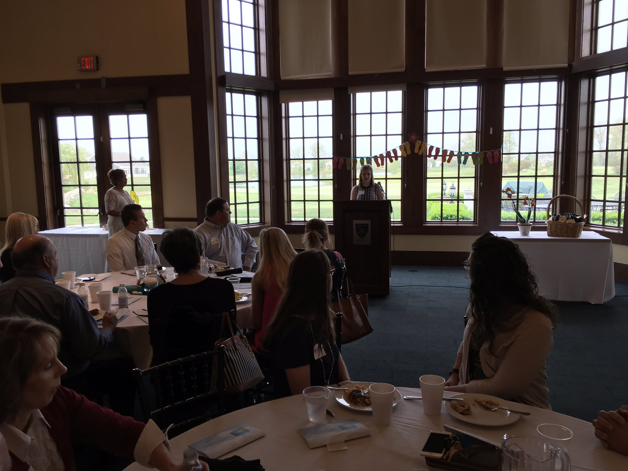 Honoring our business partners at today's @ypadublin breakfast.#theDublinDifference https://t.co/B5wpT8nxMT