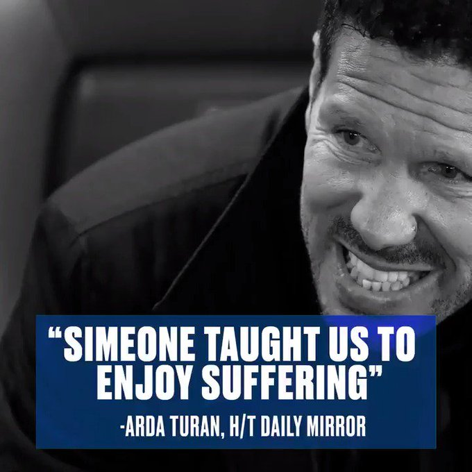 Happy birthday, Diego Simeone!  Is there a tougher manager in world football?