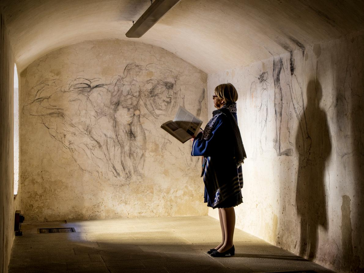 A L&#39;Atelier on aime &quot;Exclusive: Secret Room Holds &#39;Lost&#39; Michelangelo Artwork&quot;  http:// ow.ly/MrCy30b5IAM  &nbsp;   @NatGeo #michaelangelo #histoire <br>http://pic.twitter.com/EO5dybMgwK