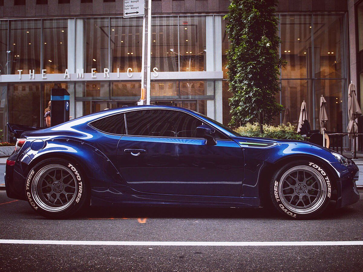 Tyrevogue On Twitter Subaru Brz With Tyre Lettering Kit Featured