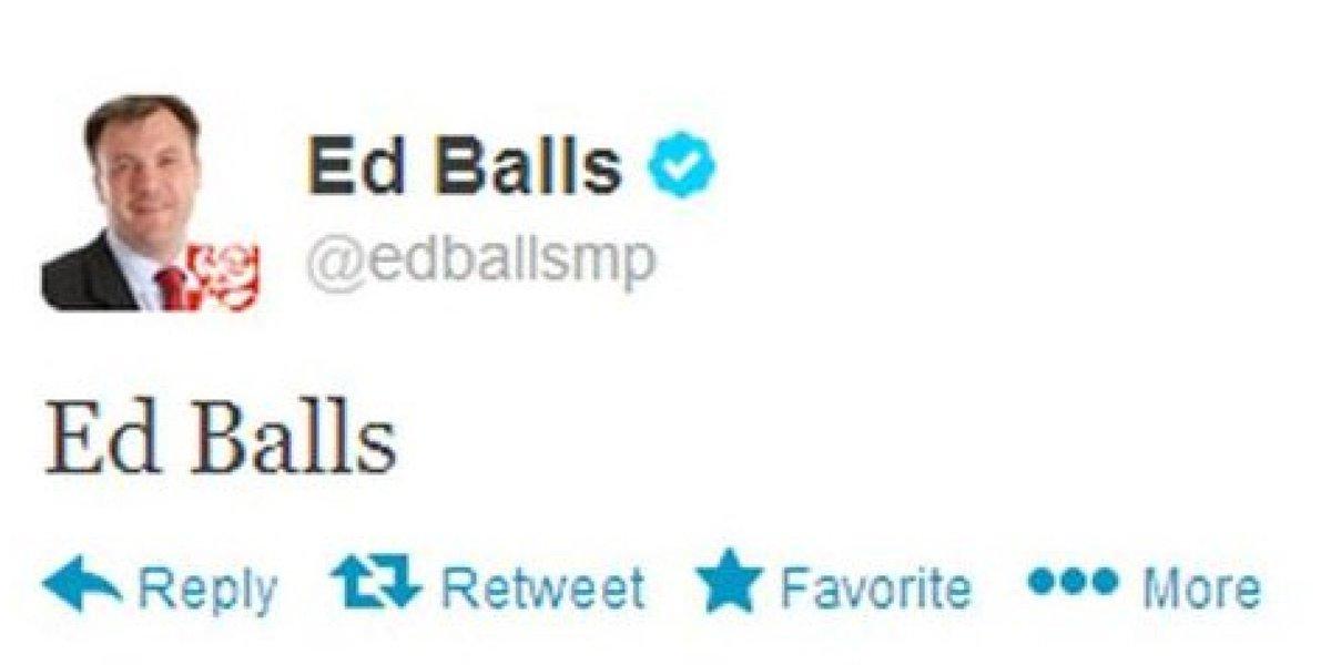 Image result for ed balls twitter