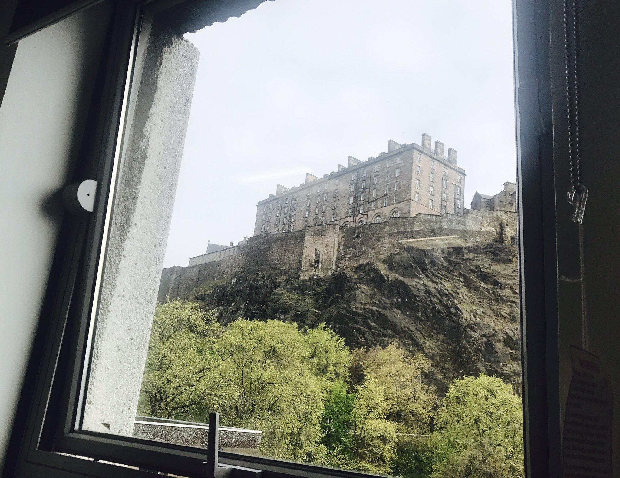 Admiring the fabulous view from Argyle House and looking forward to today's talks at #UoEOKN https://t.co/0ryc9ofeqY
