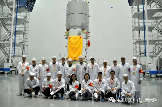 Shanghai Academy of Spaceflight Technology team that worked on the refuelling technology for #Tianzhou1