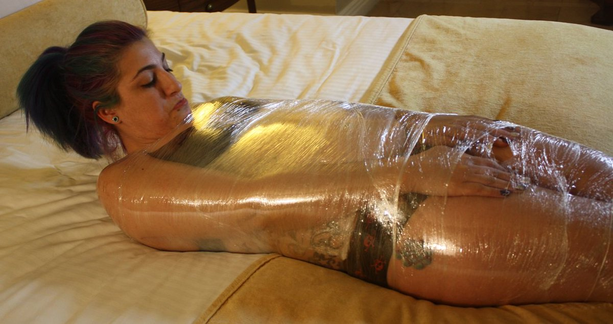 bondage shrink wrap