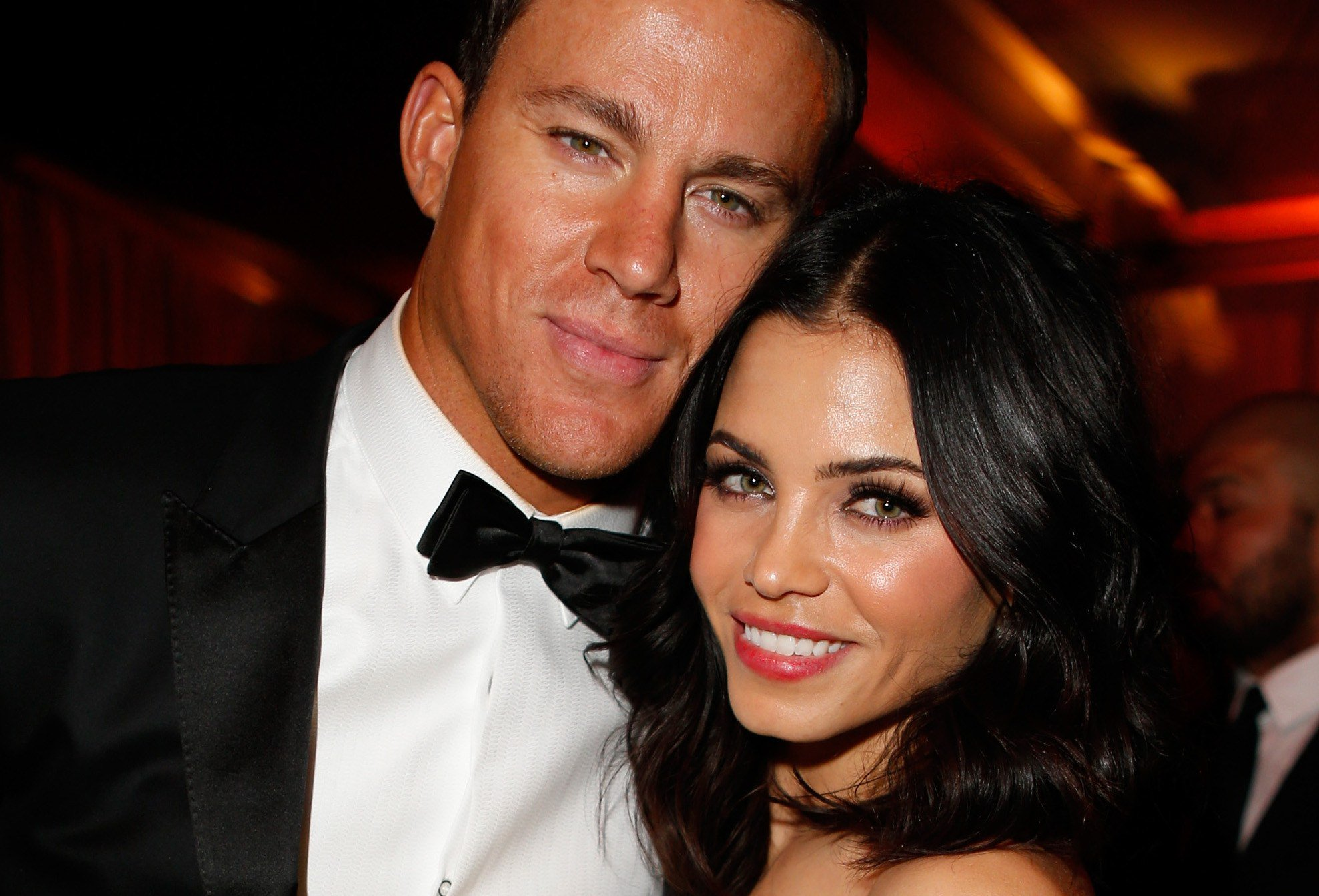 Jenna Dewan Tatum says Channing was basically naked when he asked her out: https://t.co/6gXZqSa4vQ https://t.co/Y5vqik0xN9