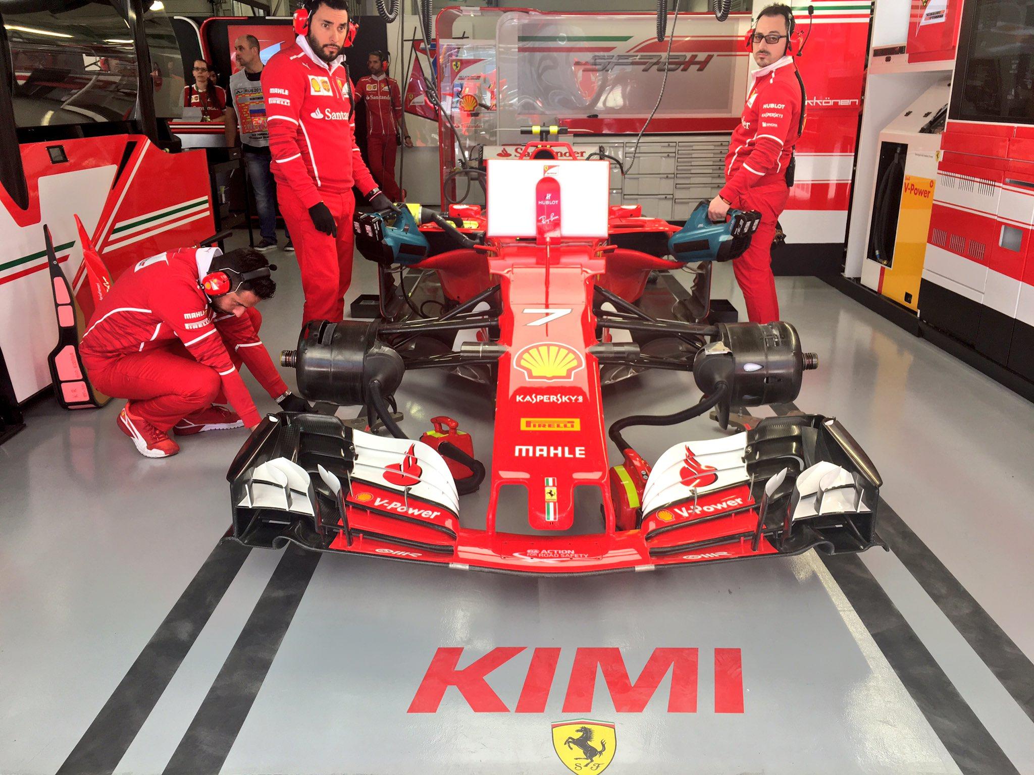 Orosz Nagydíj: Kimi nyerte az első szabadedzést!