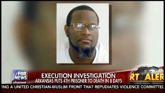 FOX NEWS ALERT: Calls for investigation after last of 4 death row inmates executed by lethal injection in Arkansas