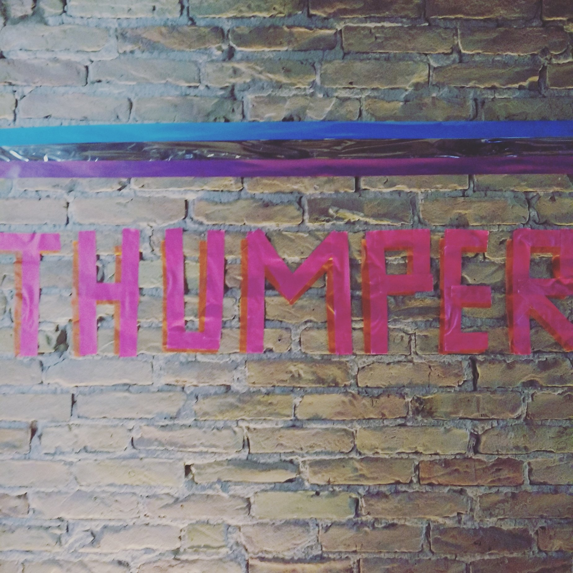 Thanks to @devolutionbln and Brian Gibson for the fantastic exhibition on the development history of @ThumperGame at #AMaze2017 https://t.co/Ci1vfLDJdI