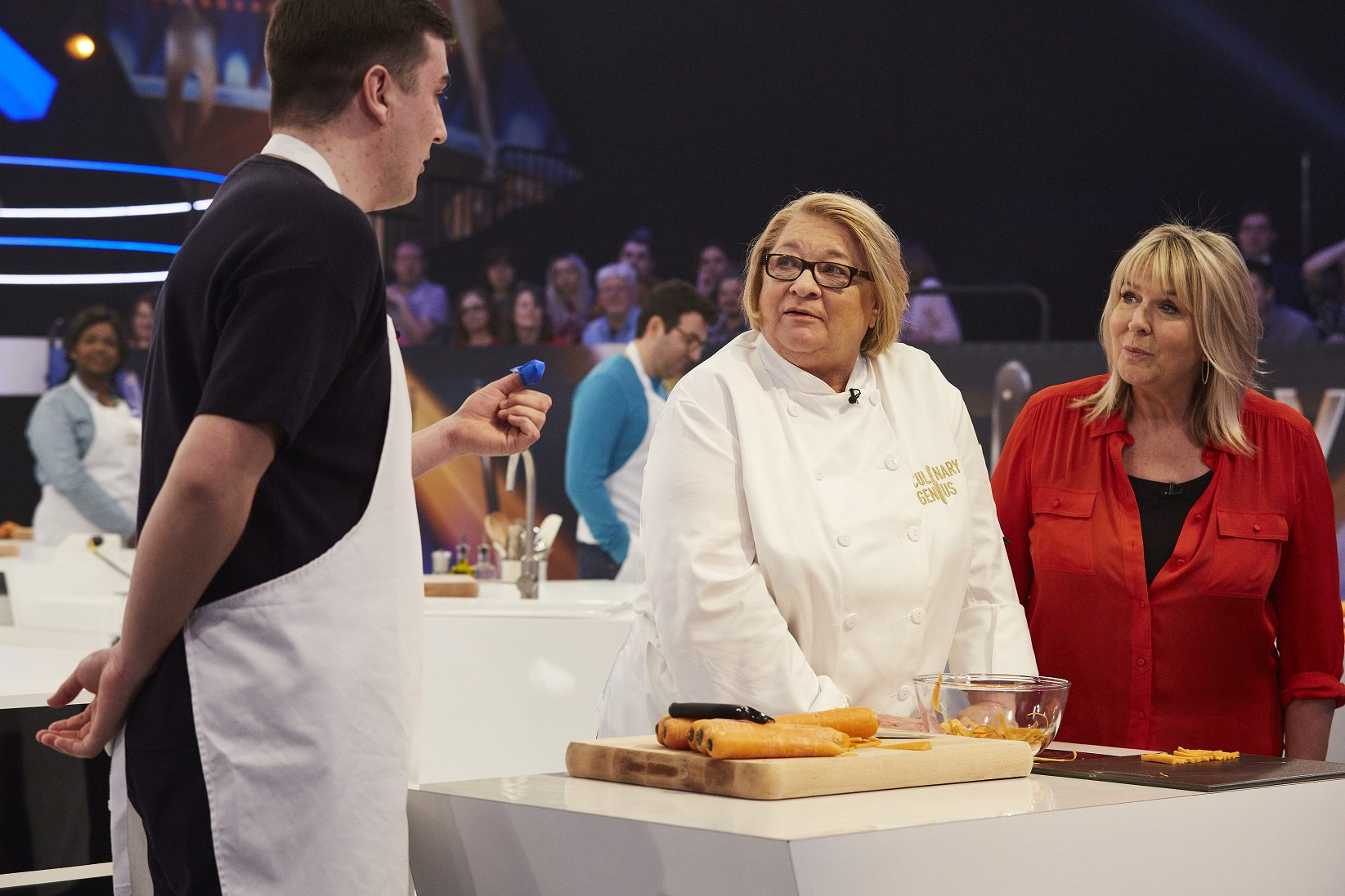 Week 2 of #CulinaryGenius with @RosemaryShrager is almost at its end - catch today's episode at 3 PM on @ITV ! https://t.co/f2TY8EnKUV