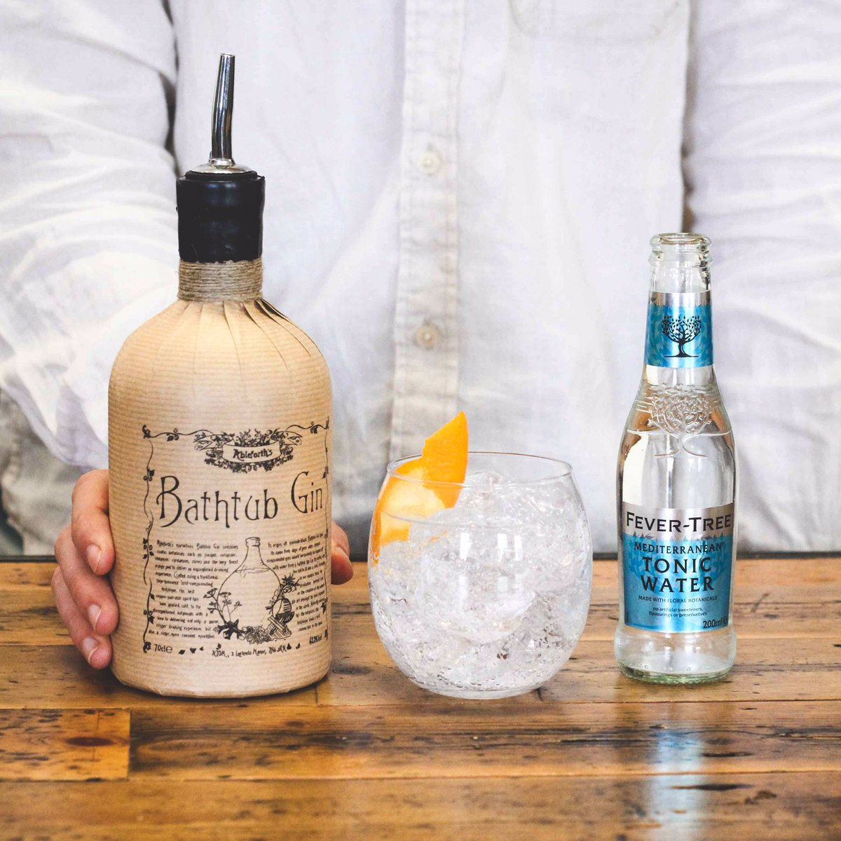 Fever Tree Mixers On Twitter A Richly Flavoured Gin Ableforths Bathtub Gin Is A Fantastic Treat For Fevertreefriday With Our Mediterranean Tonic Mixwiththebest Https T Co V0k10ecnpq