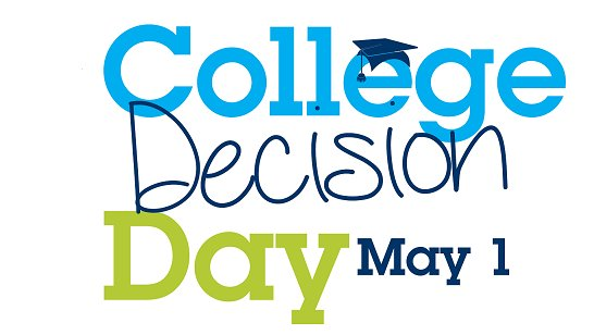 Image result for college decision day may 1st