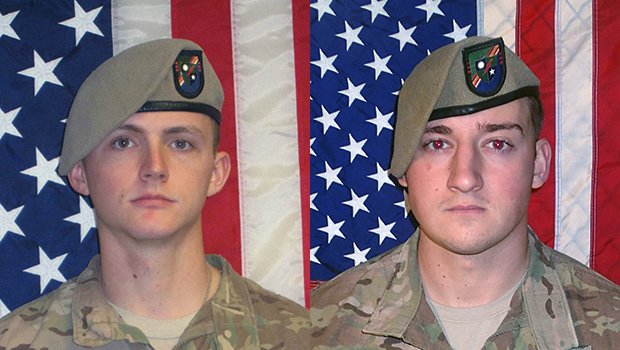 The Pentagon has identified two Army Rangers killed in Afghanistan dur...