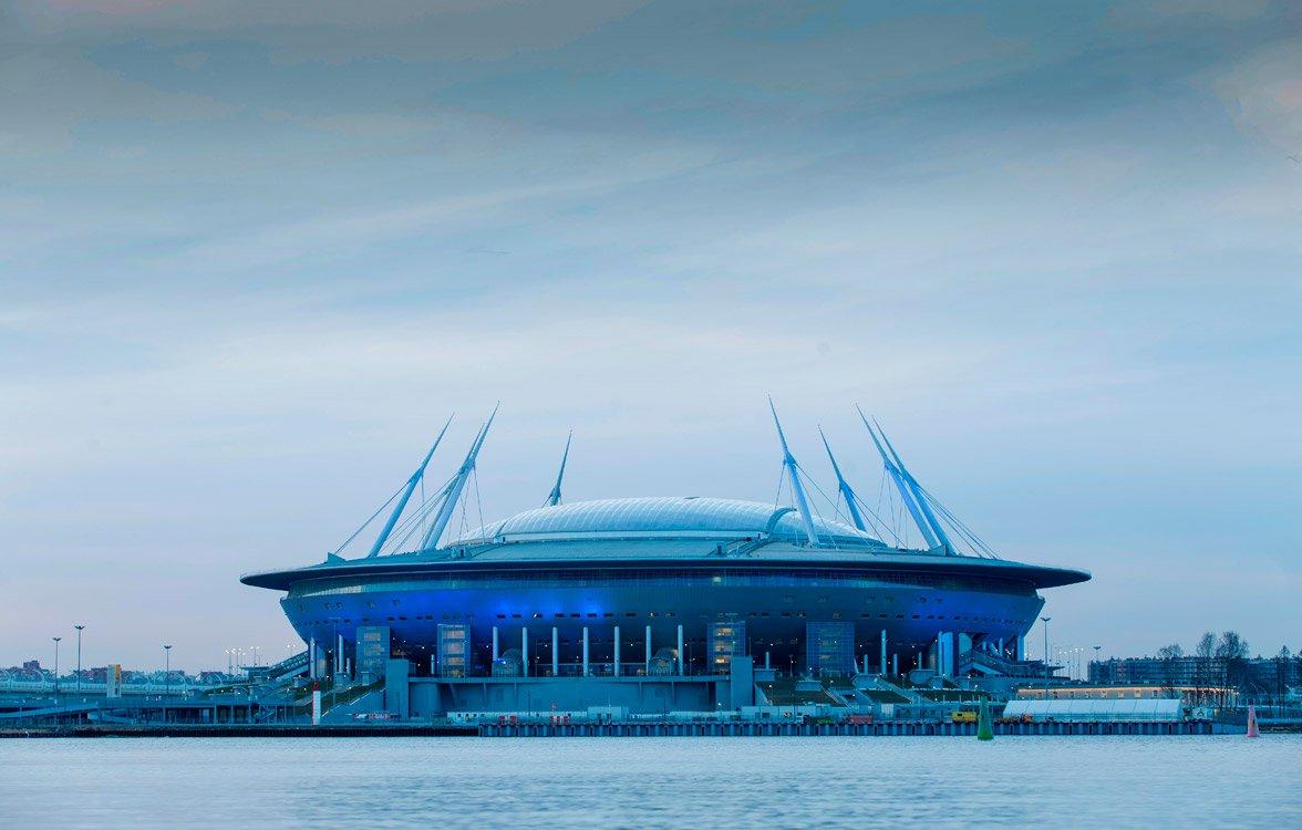 Новый стадион зенита в картинках