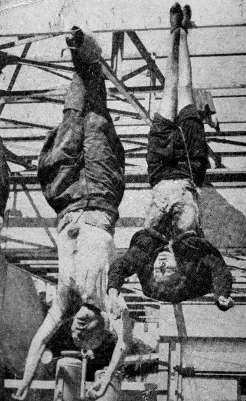 """Unlock History on Twitter: """"#TodayInHistory, in 1945, Mussolini & his  mistress, Clara Petacci, would be killed by Italian partisans while  attempting to flee Switzerland… https://t.co/UWMEU64Xp1"""""""