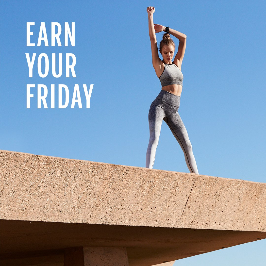 Put in the work. Reap the rewards. Repeat. #FitFriday