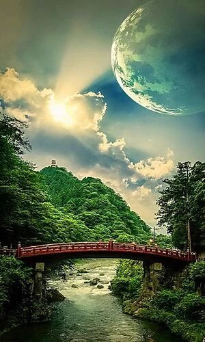 #Bridges and roads link the people in our beloved #Earth <br>http://pic.twitter.com/mOuuDZHpRh
