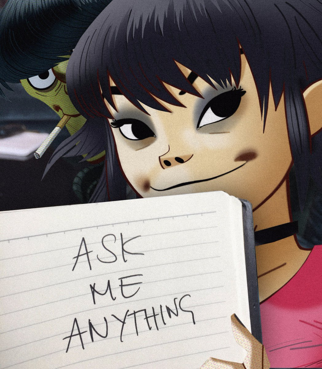 murdoc and noodle relationship questions