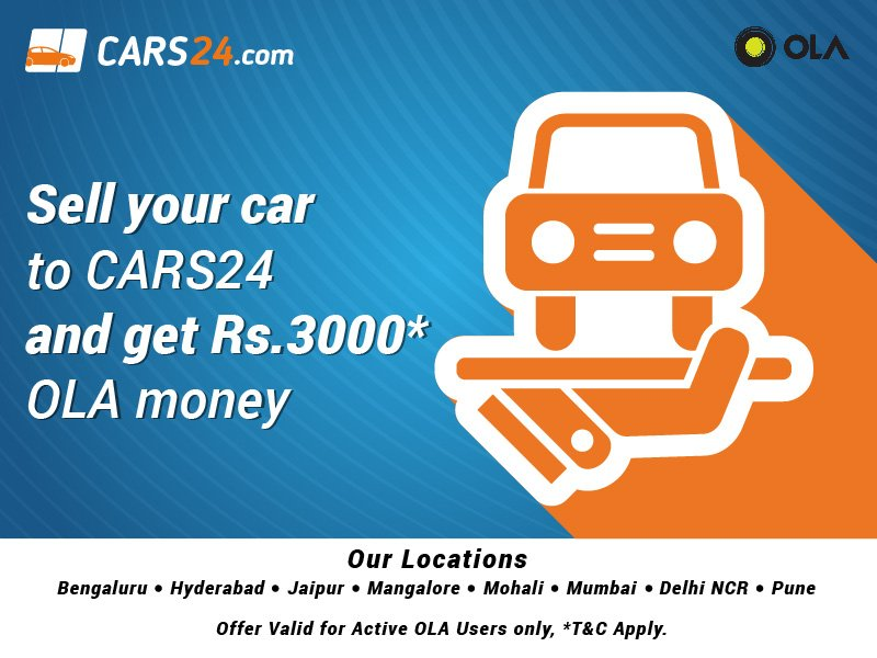 Cars24 On Twitter We Bring A Great Offer For Ola Users Sell Your