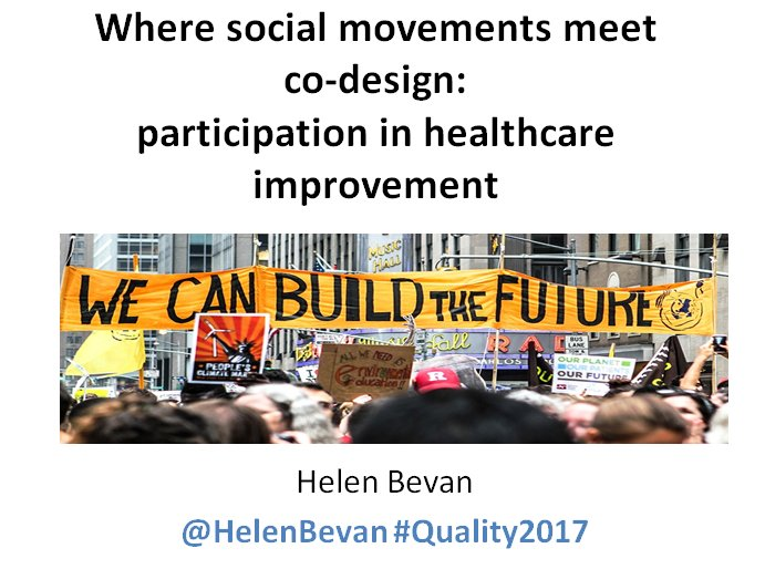 "Slides for ""Where social movements meet co-design"" https://t.co/G1lTo4E2NJ Session F6 at #Quality2017 https://t.co/w3HVoZoXhr"