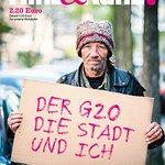 Was passiert mit Obdachlosen, wenn Hamburg zur #G20-Sicherheitszone wird? Meine Titelstory in der neuen H&K https://t.co/KcldhbScU5