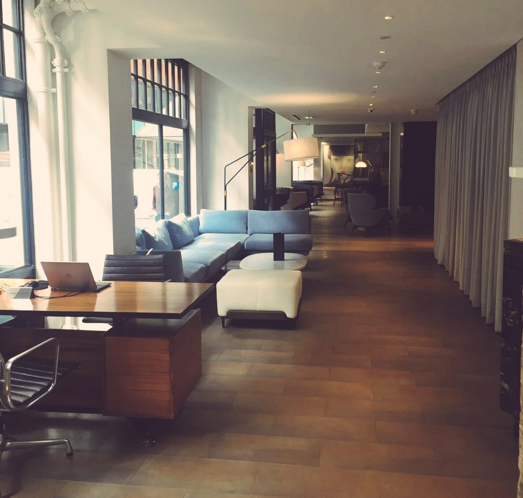 In love with the chic interiors at Mercer Street Hotel @RBEhotels #eventprofs #boutiquehotel #coventgarden https://t.co/ZthRqhmcef