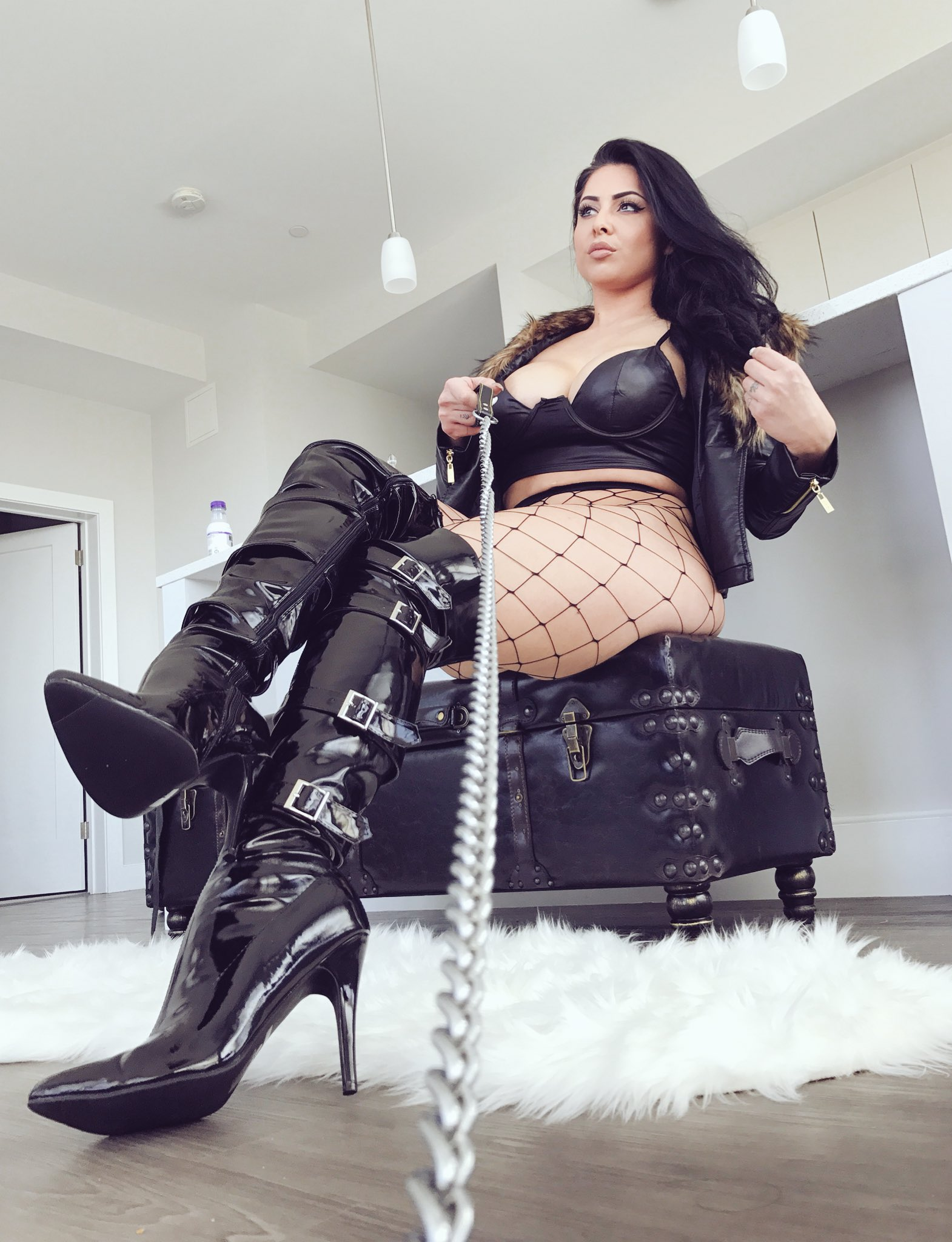 Boobs and boots