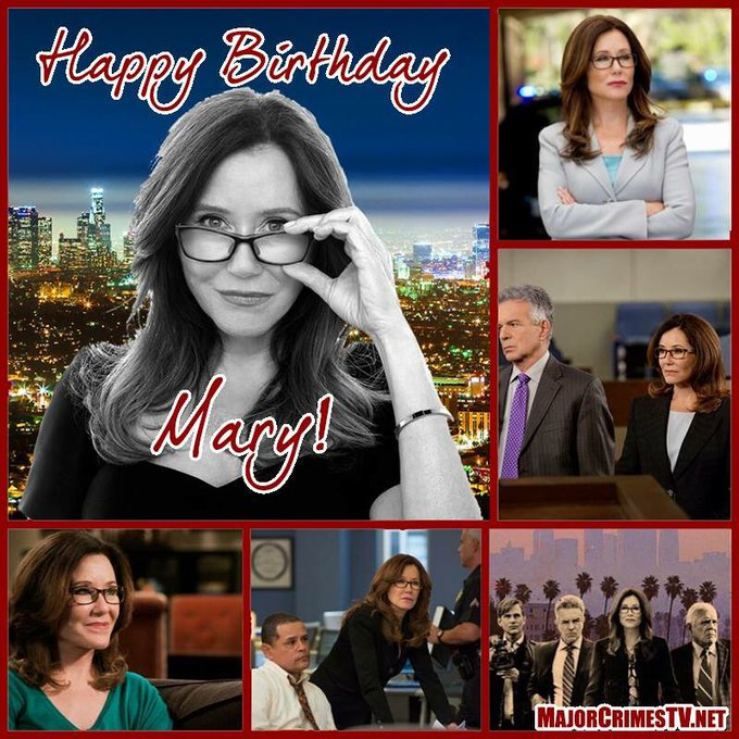 Please join us in wishing a very Happy Birthday to the Commander herself, Mary McDonnell!