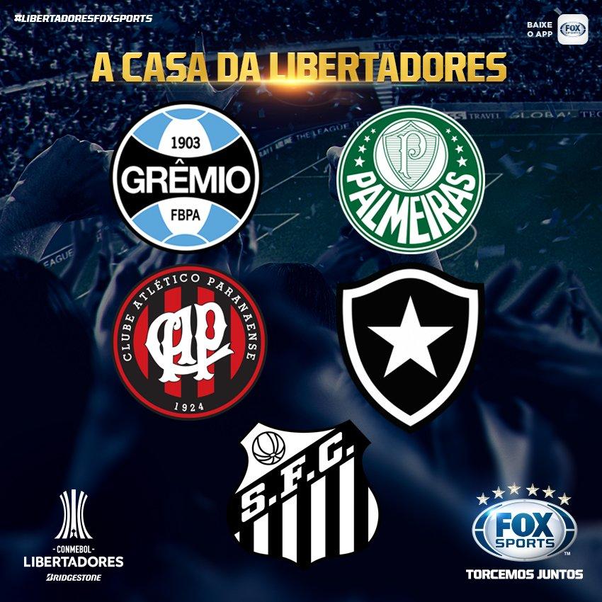 🌎 Só dá RT quem é LÍDER na #LibertadoresFOXSports!