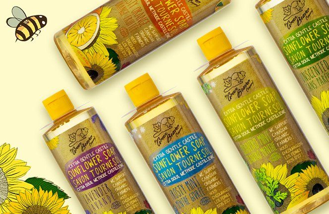 We use #organic sunflower seed oil (instead of olive oil) in our #castile soap, to promote local organic farming -> https://t.co/wmLlfVEzrx