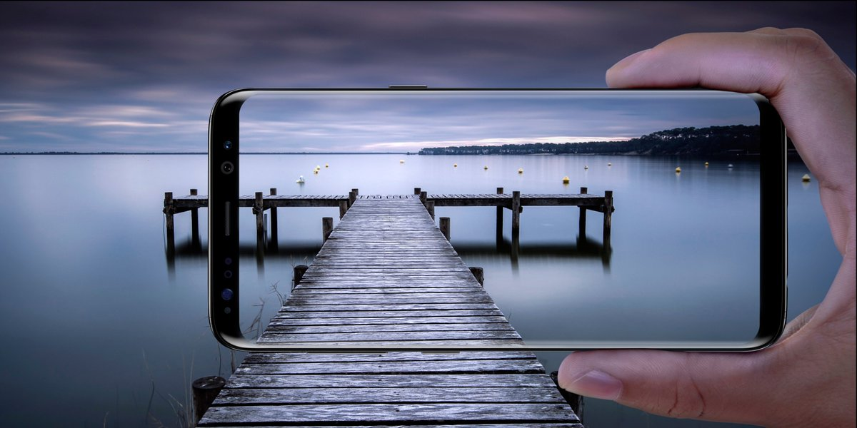 More screen. More spending money. Get your Samsung Galaxy S8 now @bestbuy! https://t.co/7R1QpqeR2E #ad https://t.co/IswNL6ofTj