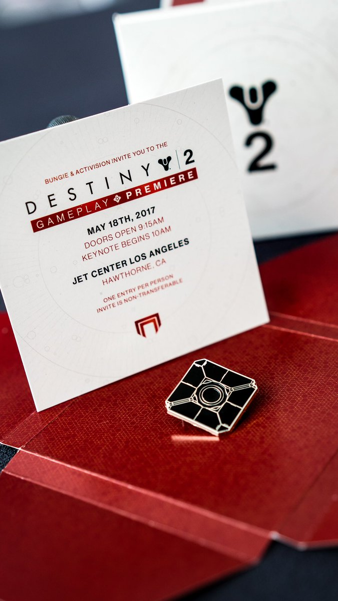 Playstation on twitter inside that mysterious box a cayde 6 playstation on twitter inside that mysterious box a cayde 6 figure a sweet pin and an invite to the destiny 2 gameplay premiere stopboris Images