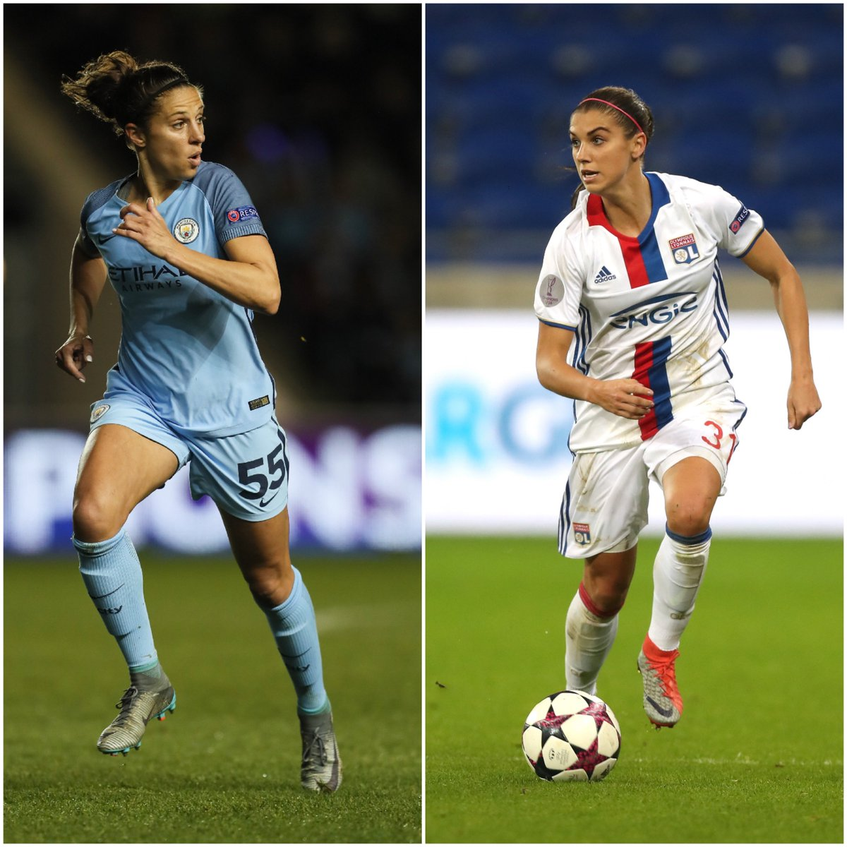 Carli Lloyd and Alex Morgan won a World Cup together with the #USWNT, but they&#39;ll go head-to-head again this weekend  http:// ble.ac/2pur4vD  &nbsp;  <br>http://pic.twitter.com/sIANitD7iH