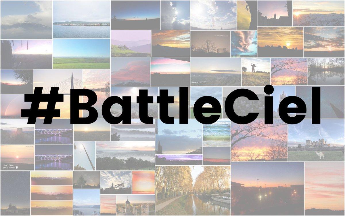 """""""Quand les ciels d'Occitanie s'affrontent dans une """"battle"""" sur twitter"""" via @France3MidiPy #BattleCiel  http:// france3-regions.francetvinfo.fr/occitanie/quan d-ciels-occitanie-s-affrontent-battle-twitter-1237417.html  … pic.twitter.com/trZLaMjQ3l"""