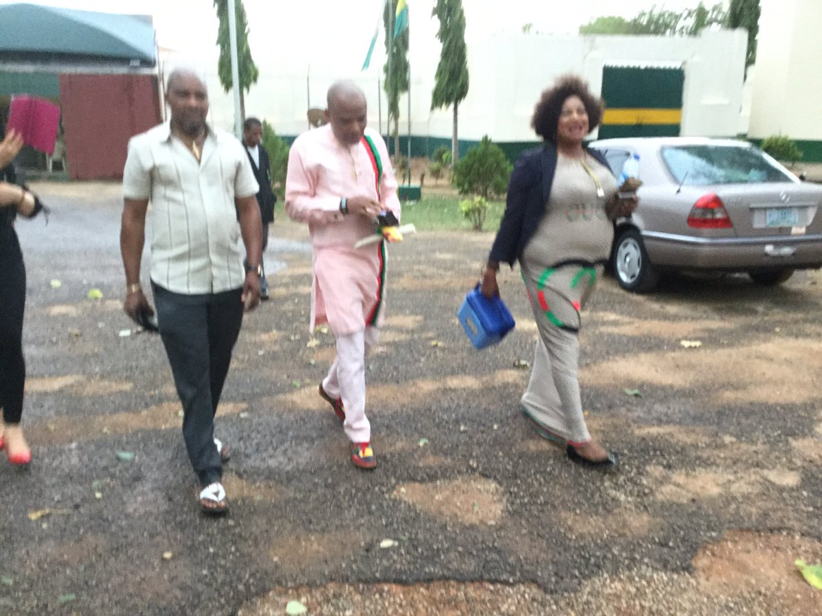 Leader of Indigenous People of Biafra (IPOB) Nnamdi Kanu was released from Kuje Prison on Friday after perfecting what were really tough bail conditions.