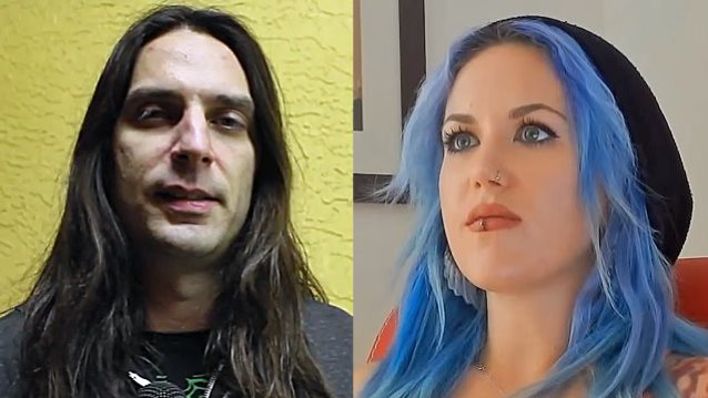 "Alissa White Gluz On Twitter Congratulations To: BLABBERMOUTH.NET On Twitter: ""THE AGONIST Guitarist"