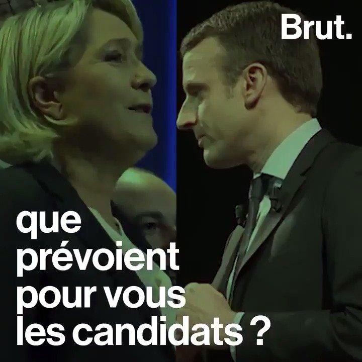 Si vous êtes une femme, que prévoient pour vous Marine Le Pen et Emmanuel Macron ?