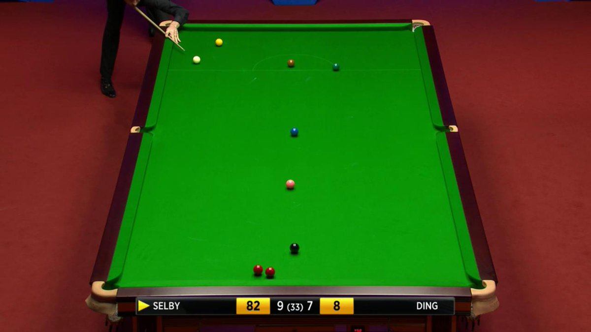 Wow! Shot of the Day. Shot of the Championship #bbcsnooker https://t.co/jMr8jaVgc4