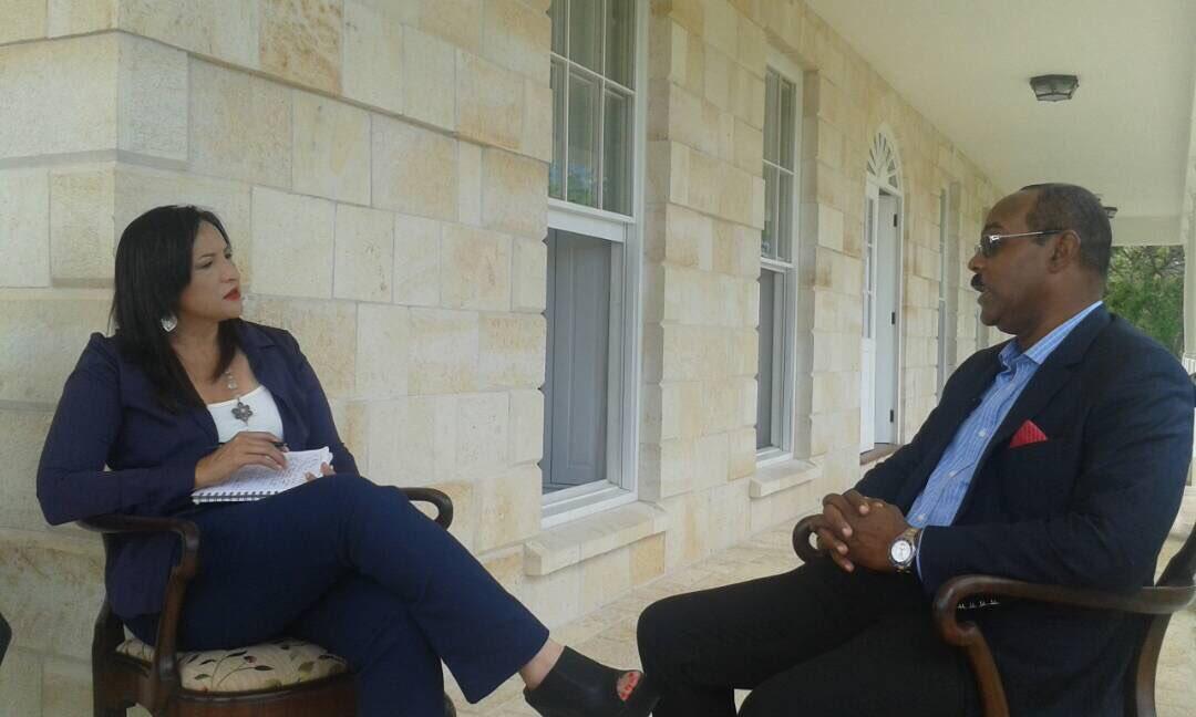"""Madelein Garcia on Twitter: """"Entrevista exclusiva con el Primer Ministro de Antigua y Barbuda Gaston Brown confirma que han sido presionados en la OEA ..."""