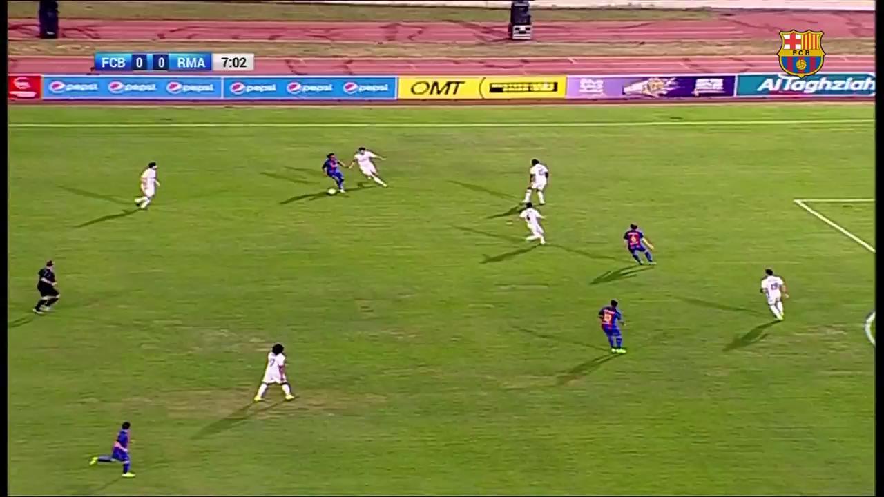 Thumbnail for Así fue el regreso de Ronaldinho al Barcelona