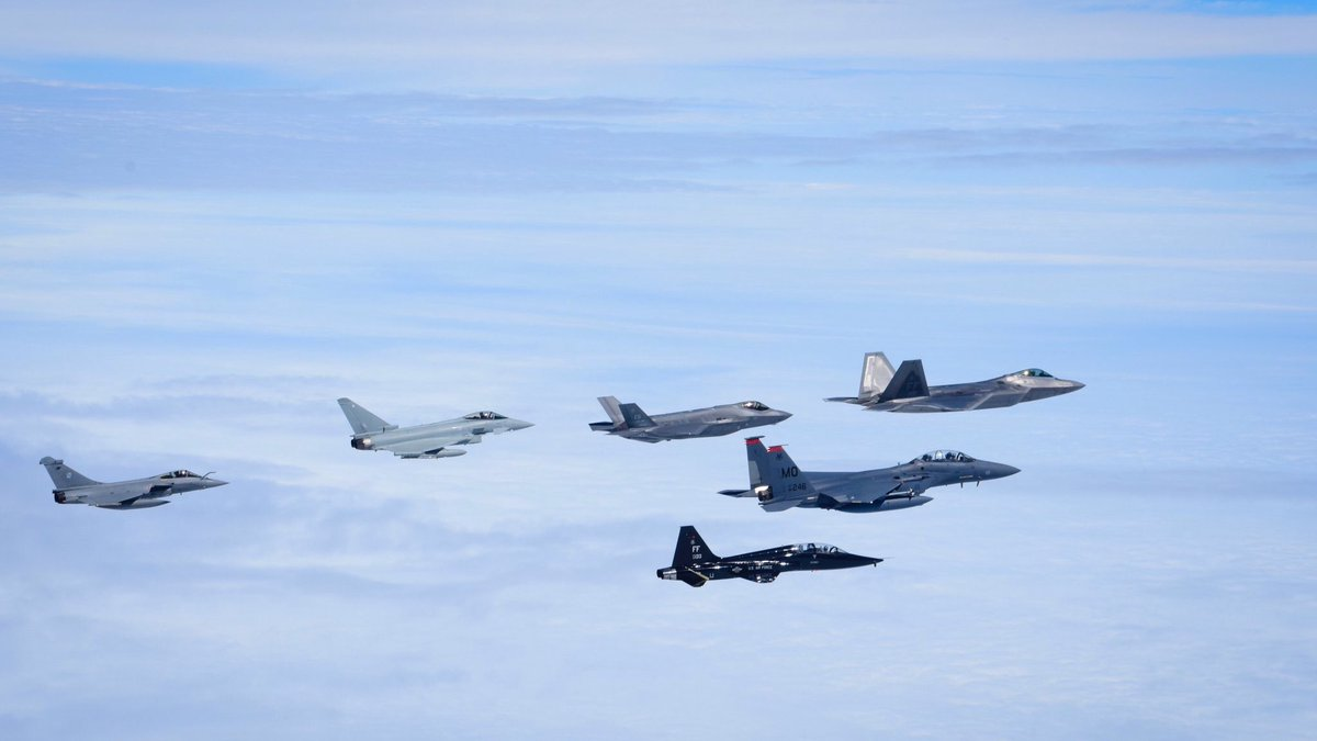 F-35 overwhelming superiority over Rafale and Eurofighter in