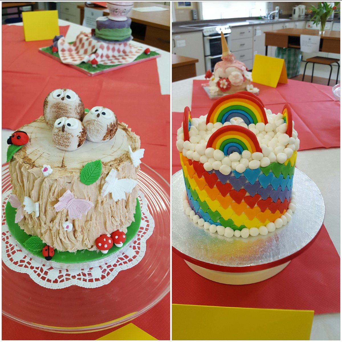 Fantastic cakes today at the Great Loreto Bake-off final 2017 in Loreto Letterkenny