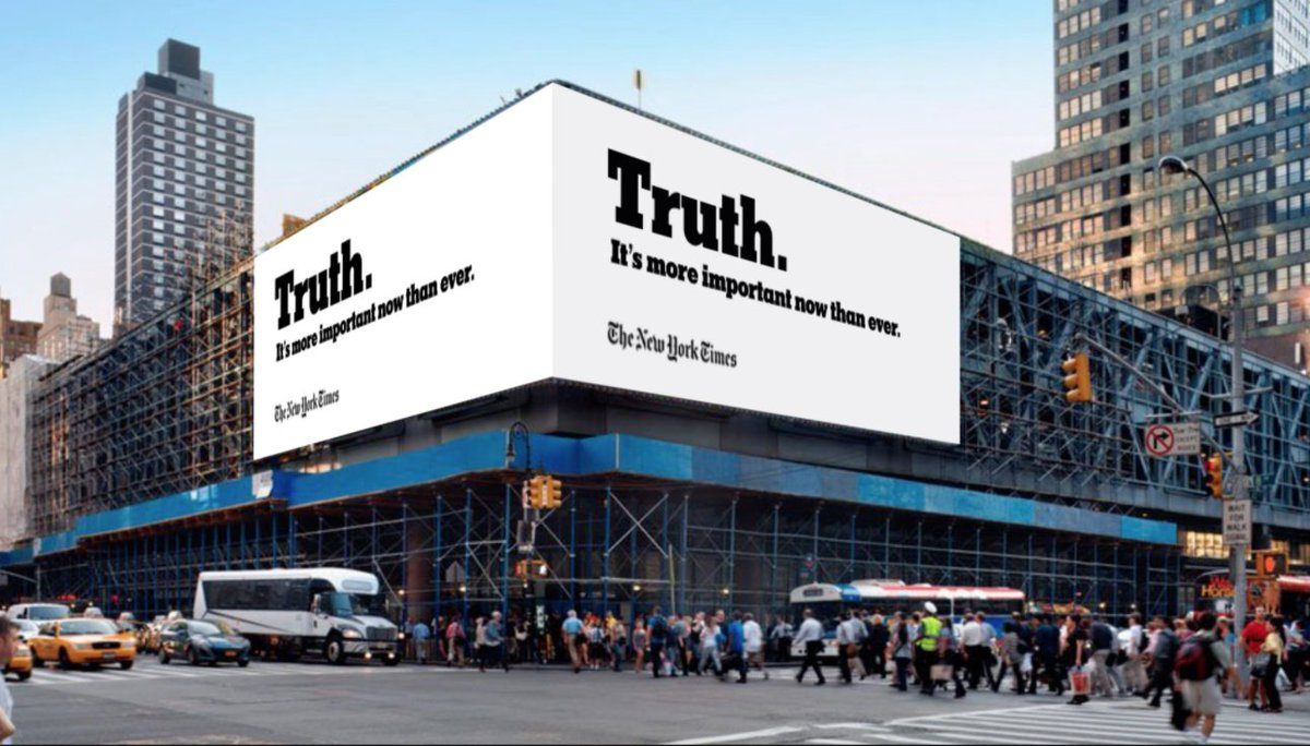 The Truth Is More Important Now Than Ever, Except If You're Reading Our Op-Ed Page