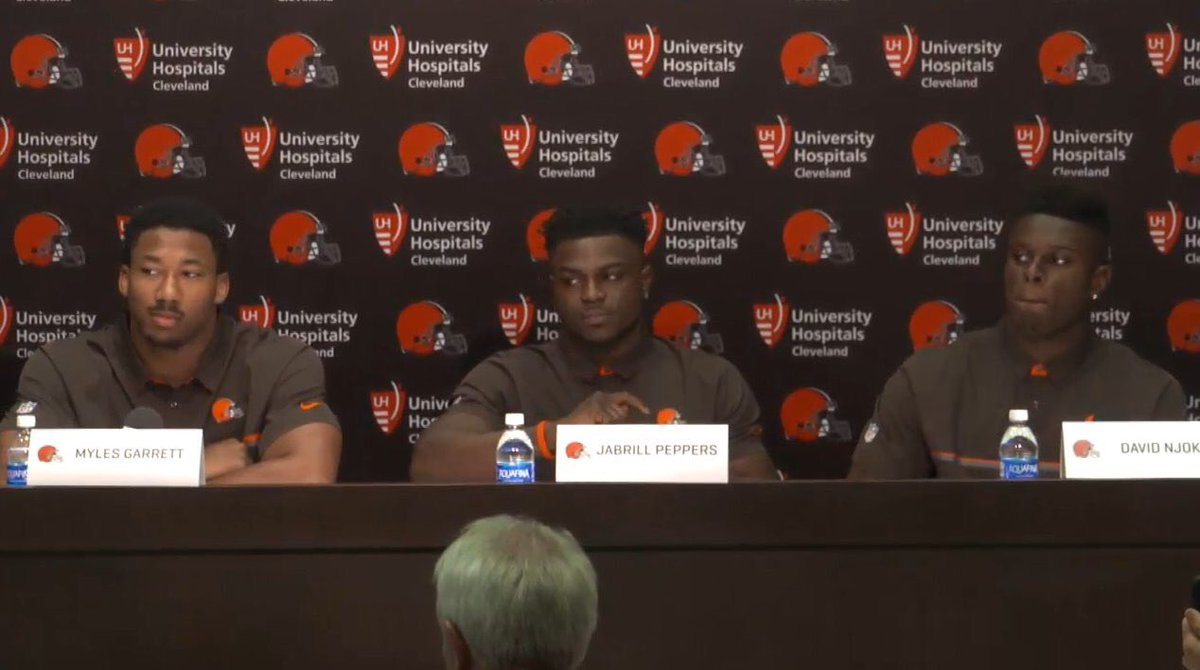 The look when Tony Grossi hits you with a question https://t.co/f2i9z1nTKM