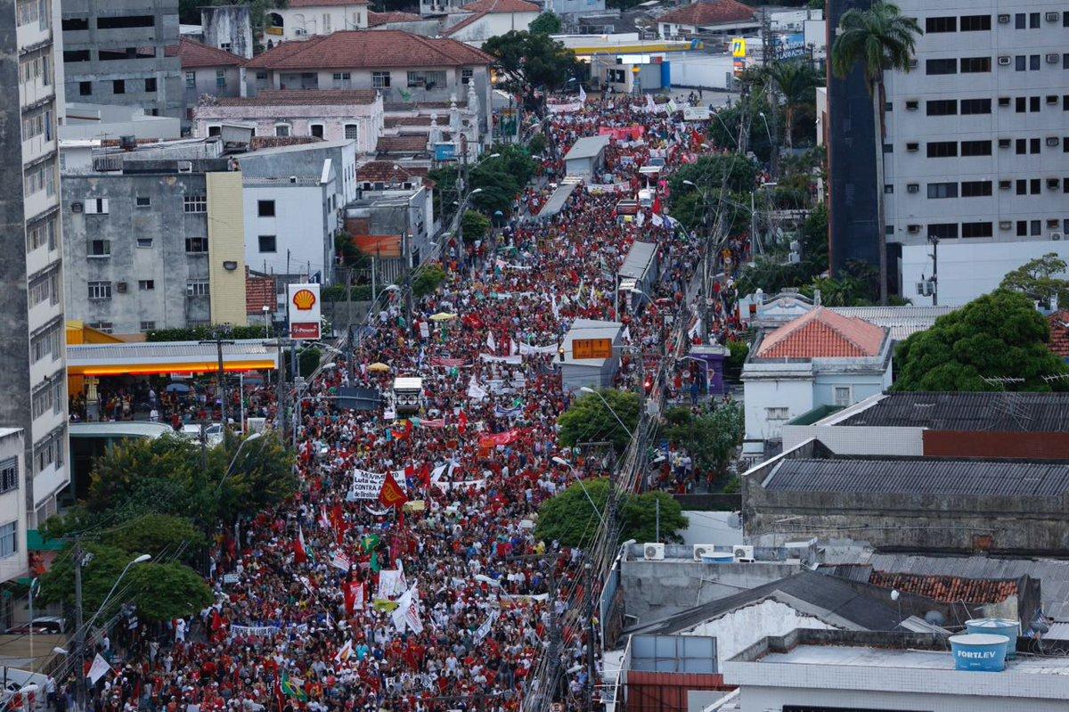 Imagem da greve que mídia comprada se esforça por vender como 'fracasso'. Não há mais imprensa de verdade no Brasil  https://t.co/bPjEfpNQ1c