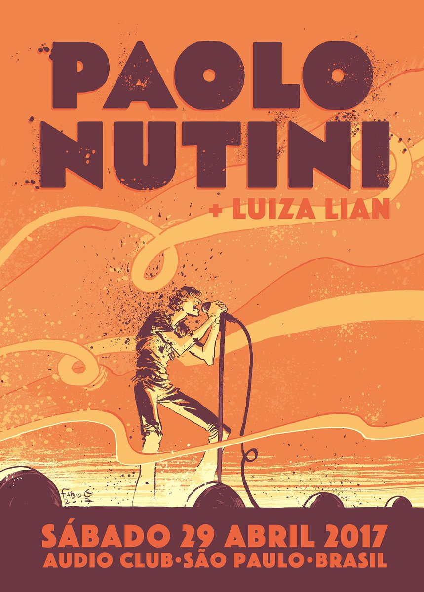 Paolo plays @audioclubsp in São Paulo tomorrow night with @luizalian...tickets available at paolonutini.com