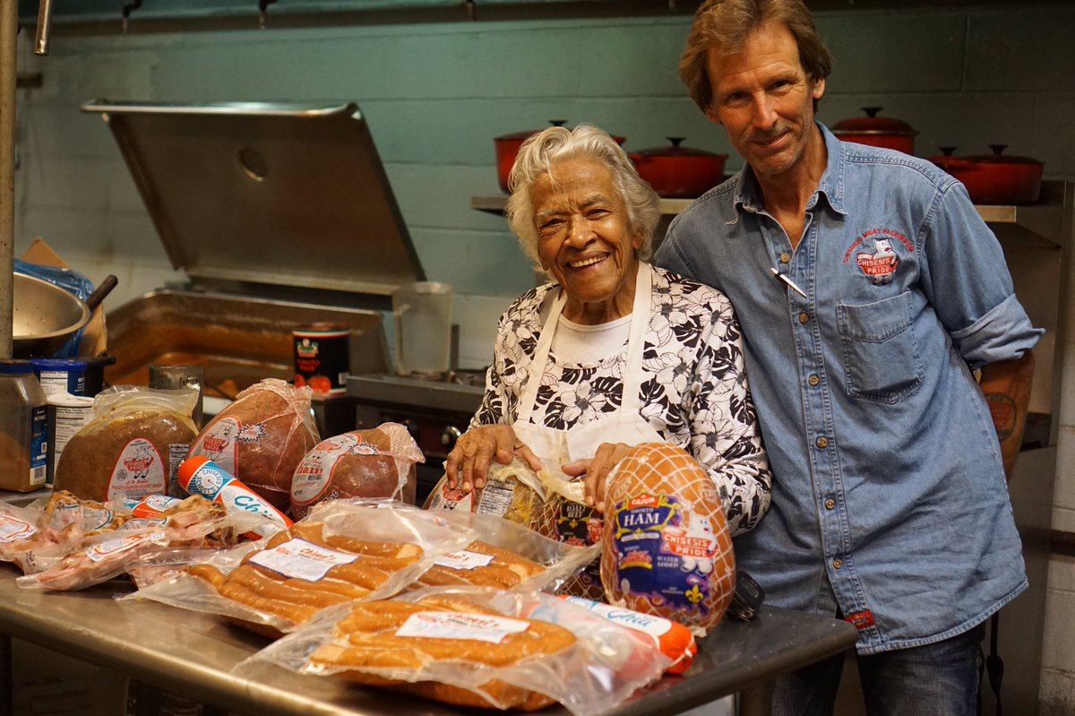 5th generation Chisesi use to delivered to Mrs Leah Chase & his father too! #nola #Foodie #food #legend