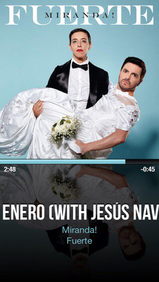 #NowPlaying #Enero (with #JesusNavarro) by #Miranda! with @CarTunesApp ♩♫ // <br>http://pic.twitter.com/si1J8geUZK